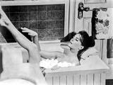 Natalie Wood Bathing on a Bath Tub