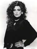 Faye Dunaway Posed with Wavy Hair