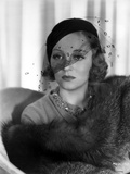 Talullah Bankhead on Netted Veil