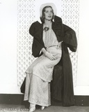 Loretta Young Long Dress and Coat