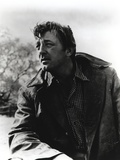 Robert Mitchum in Checkered Shirt