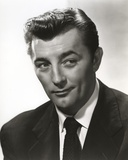 Robert Mitchum Smirking in Suit