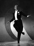 Fred Astaire Dancing in Black Suit