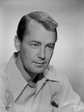 Alan Ladd Pose in Classic Portrait