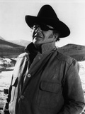 John Wayne is wearing an Eye Patch
