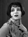 Clara Bow Looking Away in Portrait