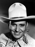 Gene Autry Happy in Cowboy Outfit