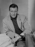 John Wayne portrait in sportscoat