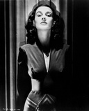 Vivien Leigh Posed in Dark Clothes