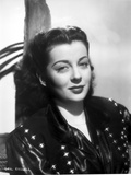 Gail Russell Portrait in Classic