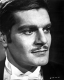 Omar Sharif Portrait in Classic