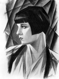 Louise Brooks in Animated Portrait
