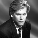 Kevin Bacon in Black Suit Portrait