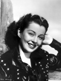 Gail Russell smiling in Portrait