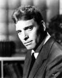 Burt Lancaster wearing Black Suit