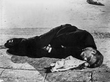 James Dean Laying Down in Classic