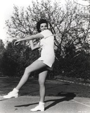 Jane Russell Posed in White Shirt