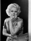 Jean Harlow Portrait in Silk Shirt