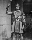Ten Commandments a Man in Armor