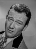 John Wayne portrait tie and suit
