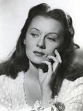 Rhonda Fleming Posed in Blouse