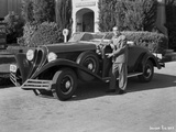 Al Jolson Showing His Vintage Car
