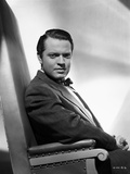 Orson Welles Seated in Formal Suit