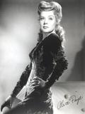 Alice Faye standing Portrait