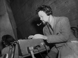Orson Welles Typing in Classic