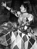 Anna Magnani Playing a Bandurria