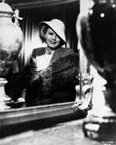 Jean Harlow Portrait In White Hat