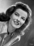 Katharine Hepburn smiling Portrait