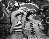 Abbott & Costello in Stripe Shirt