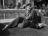 Orson Welles Reclining in Classic