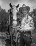 Roy Rogers Posed in Cowboy Outfit