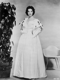 Natalie Wood posed in White Dress
