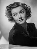 Myrna Loy Looking Away in Classic