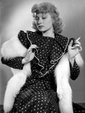 Lucille Ball in Polka Dotted Dress