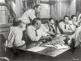 Twelve Angry Men in Meeting Scene