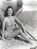 Ava Gardner Posed in Swimming Suit