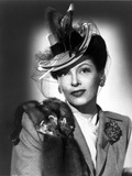 Gale Sondergaard Posed in Hat