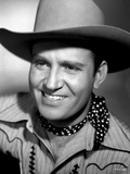 Gene Autry Grinning in Portrait