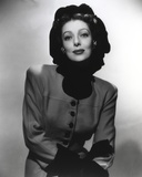 Loretta Young Head's Up Lady Pose