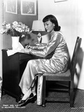 Anna Wong Working on Her Desk