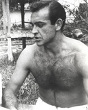 Sean Connery Posed in Topless