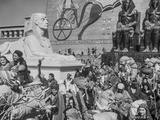 Ten Commandments Scene in Egypt