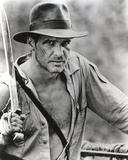 Harrison Ford Holds to a Spear