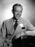 Fred Astaire Leaning in Suit