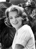 Gena Rowlands smiling in White