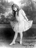 Mary Pickford on a Balet Attire